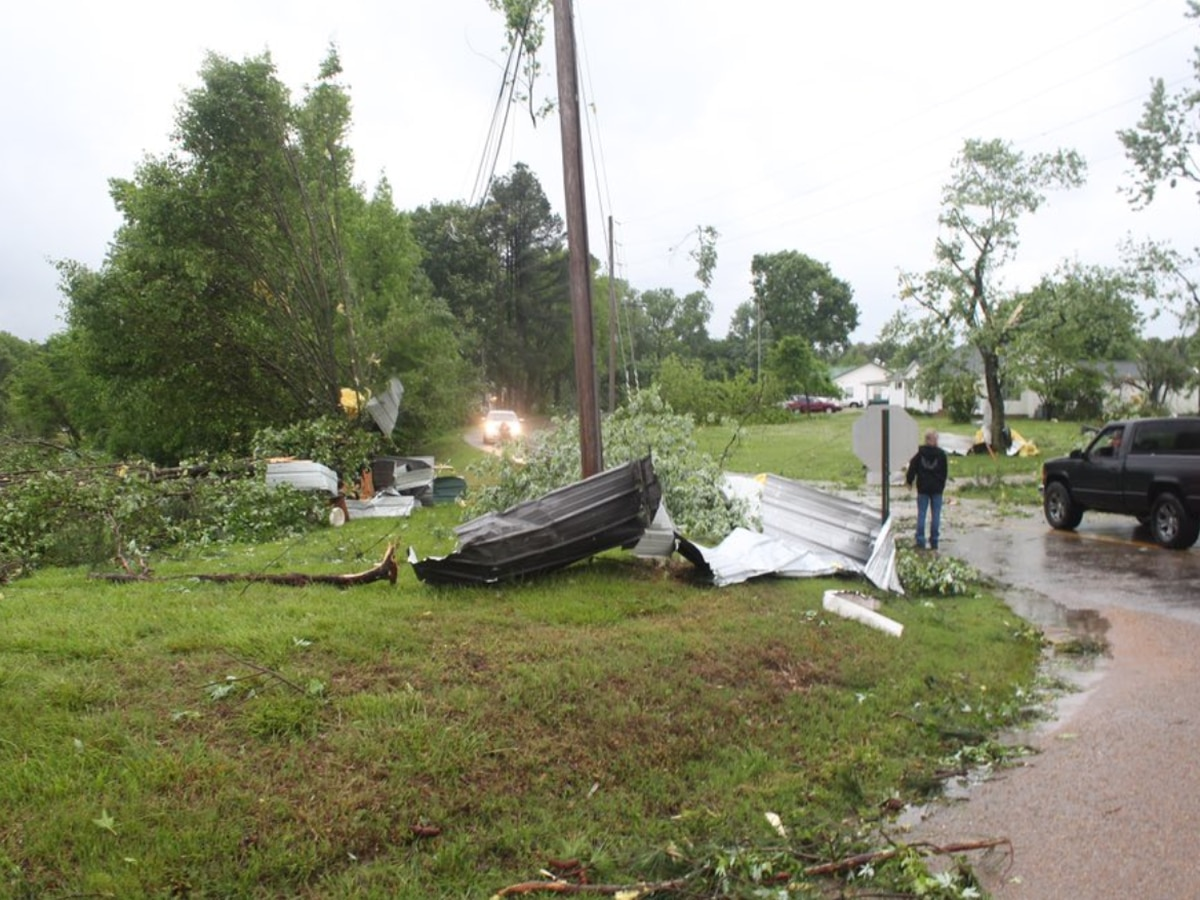 NWS releases survey results from Tipton Co. tornado