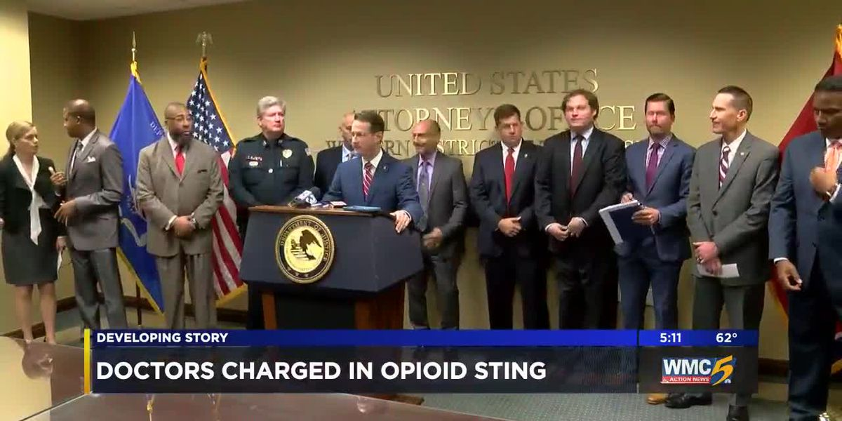 Doctors charged in opioid sting