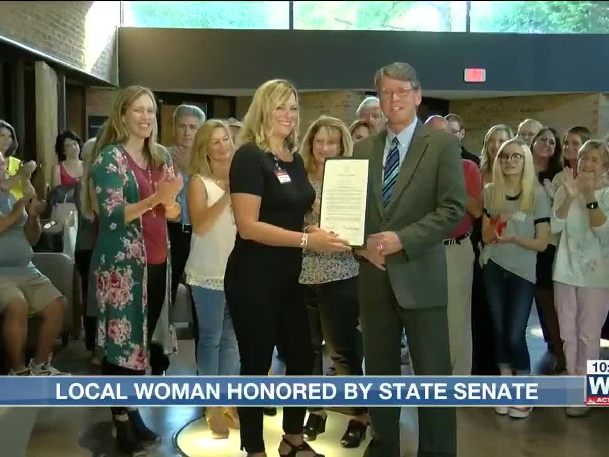 Woman recognized for work during the Germantown Flood