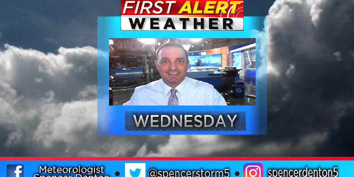 Spencer's Wednesday Afternoon Forecast