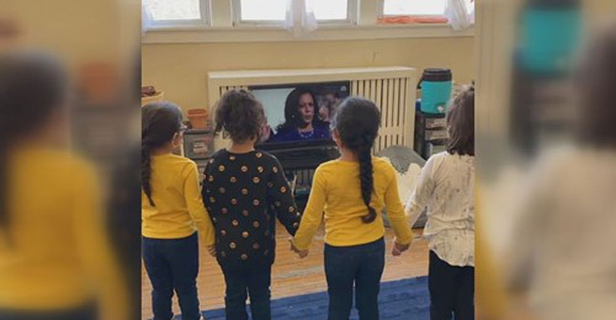 www.wmcactionnews5.com: Kindergartners stand in solidarity, inspired by swearing-in of Vice President Kamala Harris