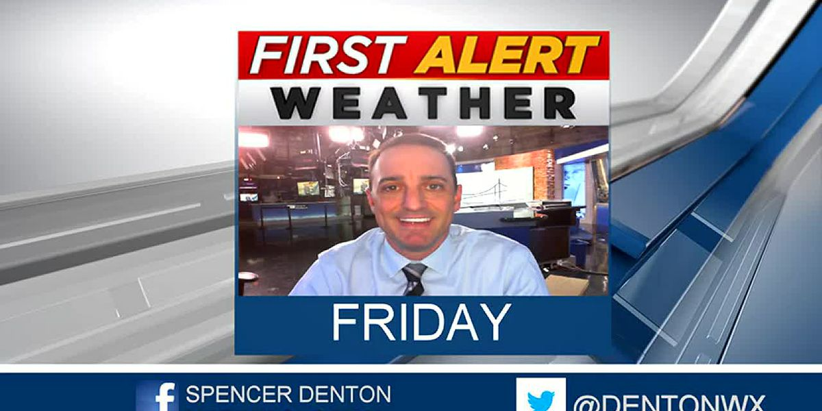 Spencer's Friday Forecast
