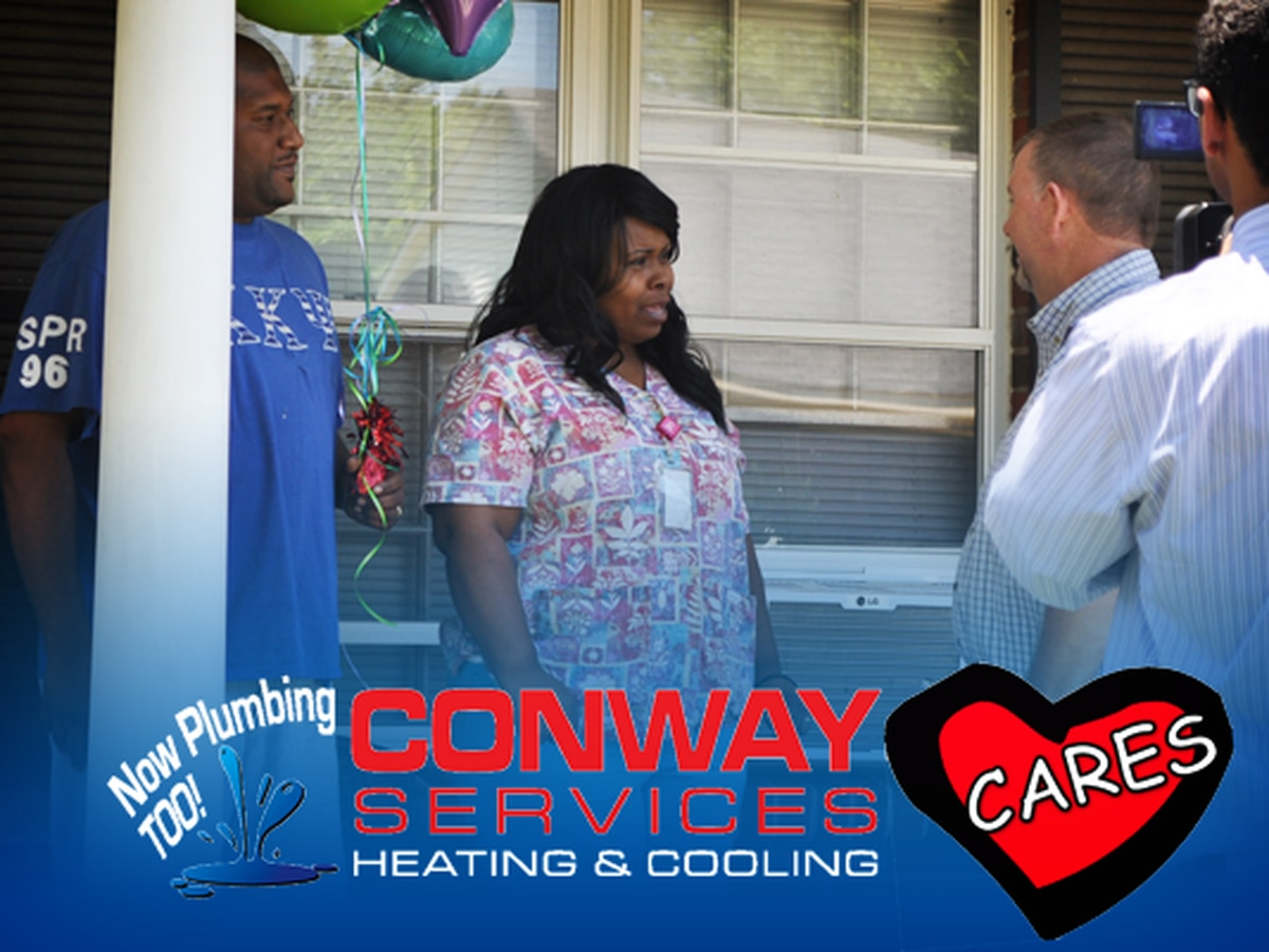 ENTER TO WIN: Heating and Cooling system from Conway Cares!