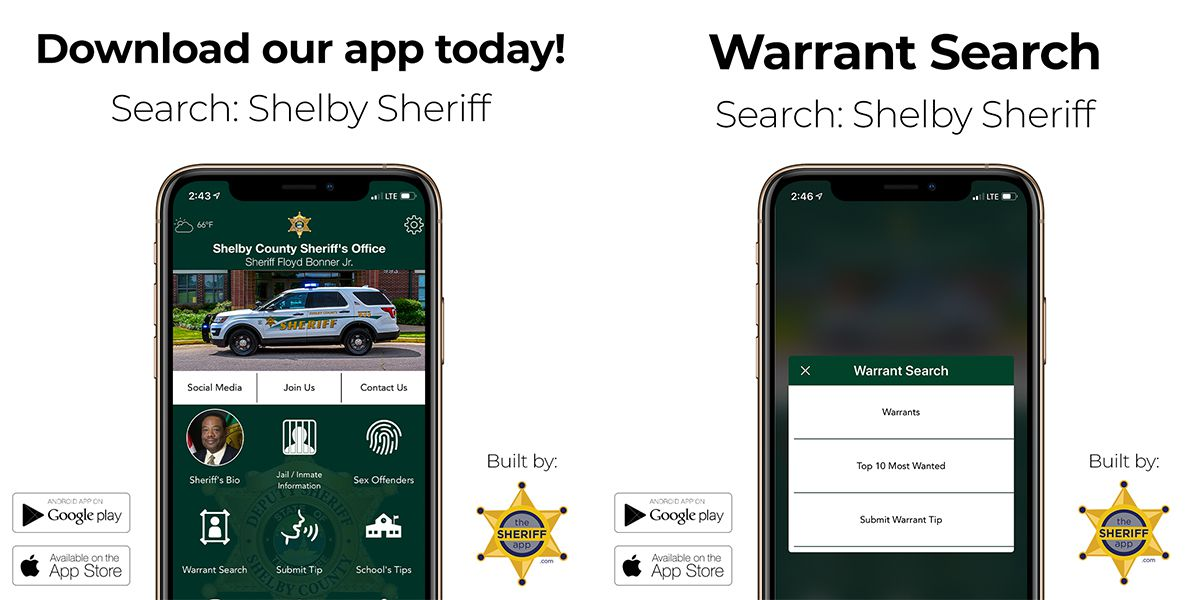 Shelby County Sheriff's Office launches new mobile app