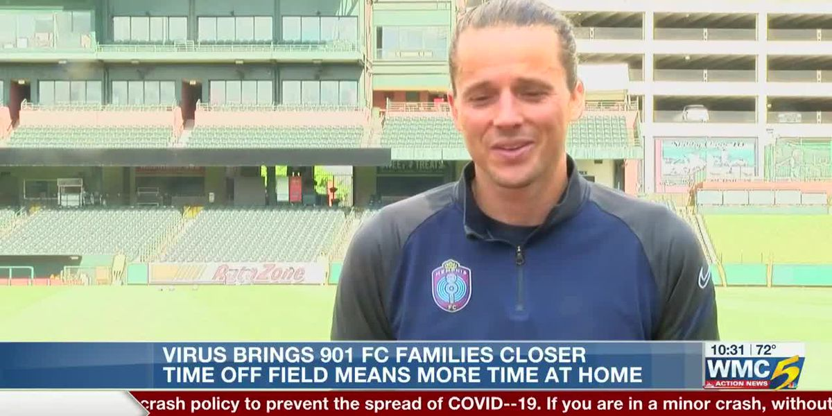 Memphis 901 FC's Marc Burch reflects on time spent with family during coronavirus