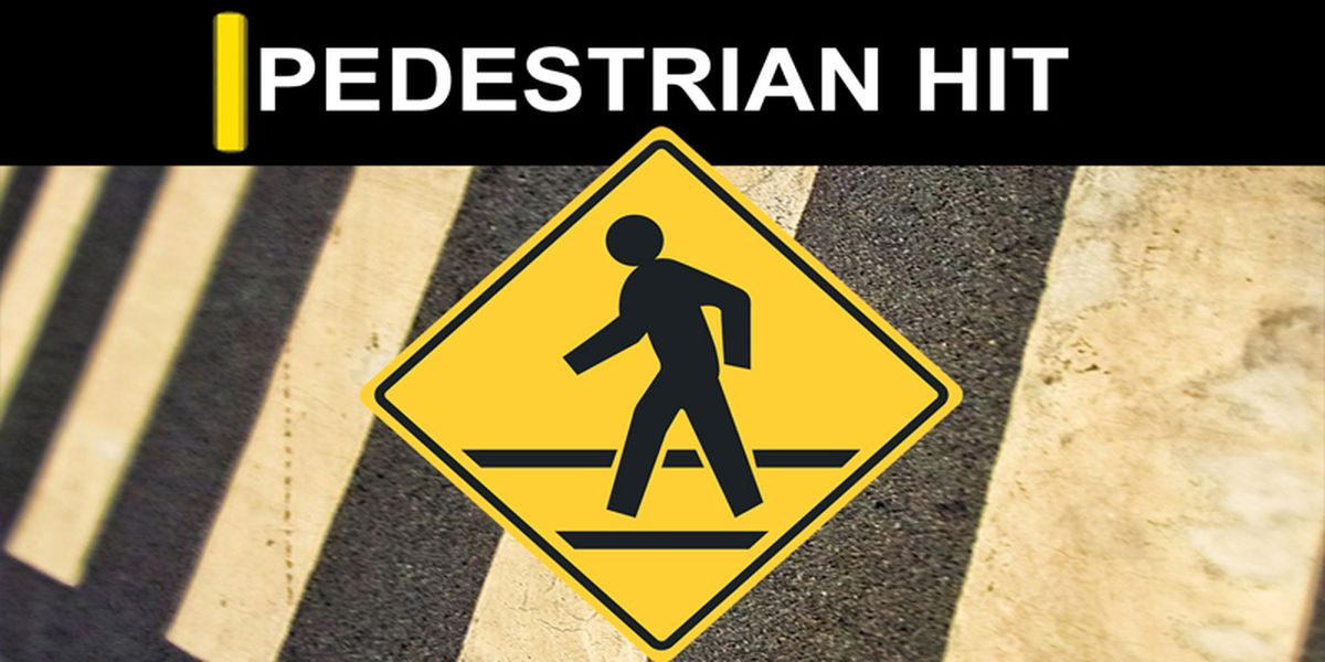 Driver on the run after hitting pedestrian near Berclair Elementary