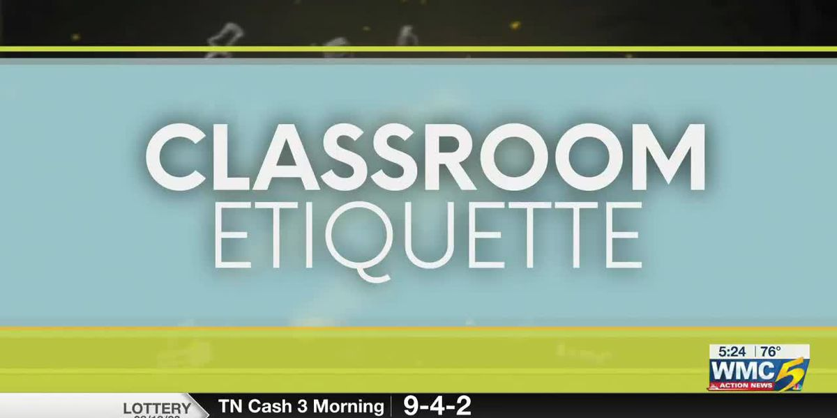 Back to school with Bluff City Life -- Classroom etiquette