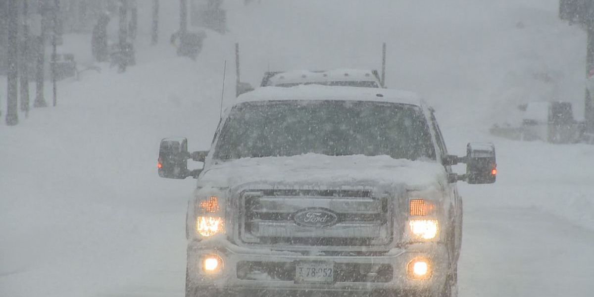 Road conditions worsen in Bartlett with new round of snow