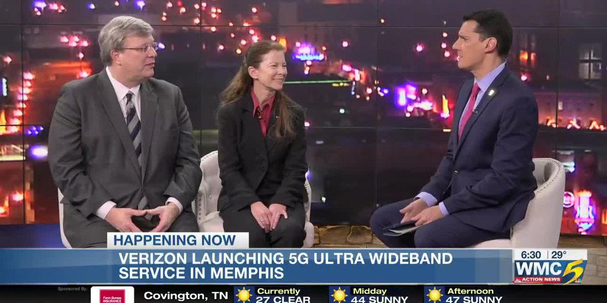 Verizon brings 5G Ultra Wideband service to Memphis
