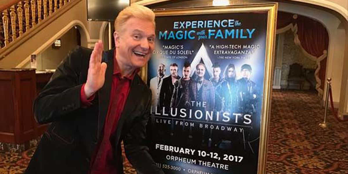 'The Illusionists' takes over Orpheum Theatre