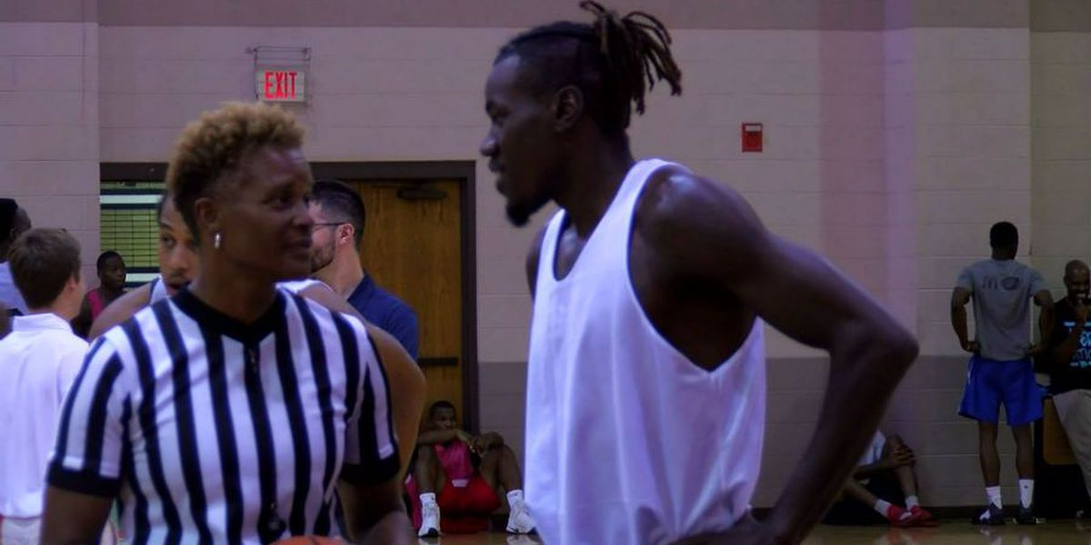 Memphis Hustle hopeful travels from Texas for tryout