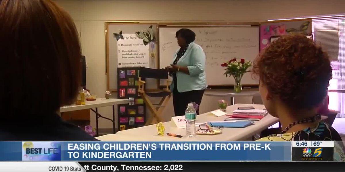 Best Life: Easing children's transition from pre-K to kindergarten