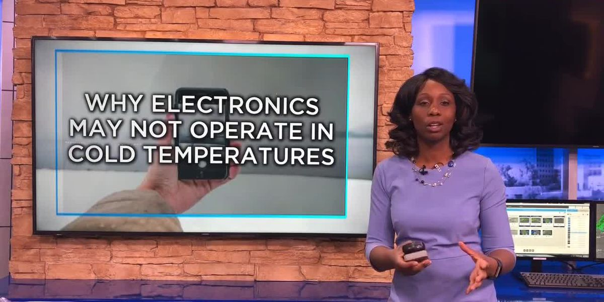How electronics are affected by cold weather