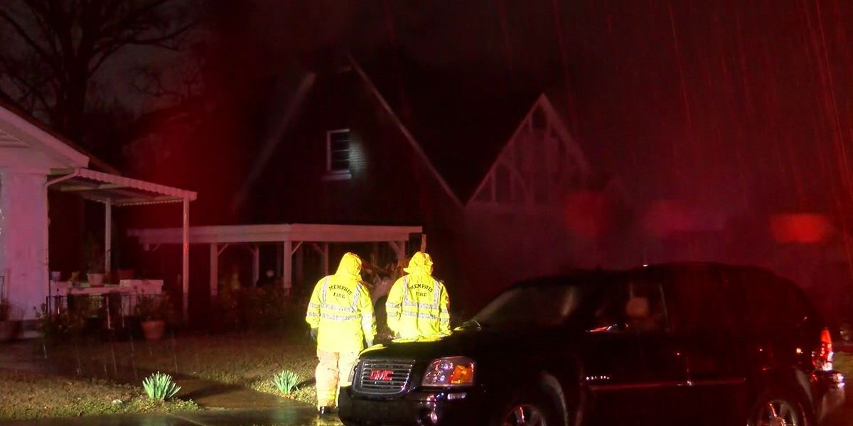 Fire tears through Memphis home