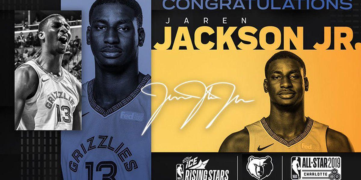 Jackson Jr Selected To NBA Rising Stars Game