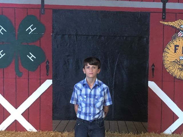 7th grade boy donates $15,000 earnings from Huron County Fair to St. Jude Children's Research Hospital