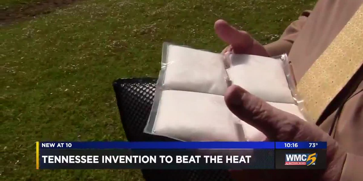 TN man invents cooling collars, packs to keep dogs, children safe in hot weather