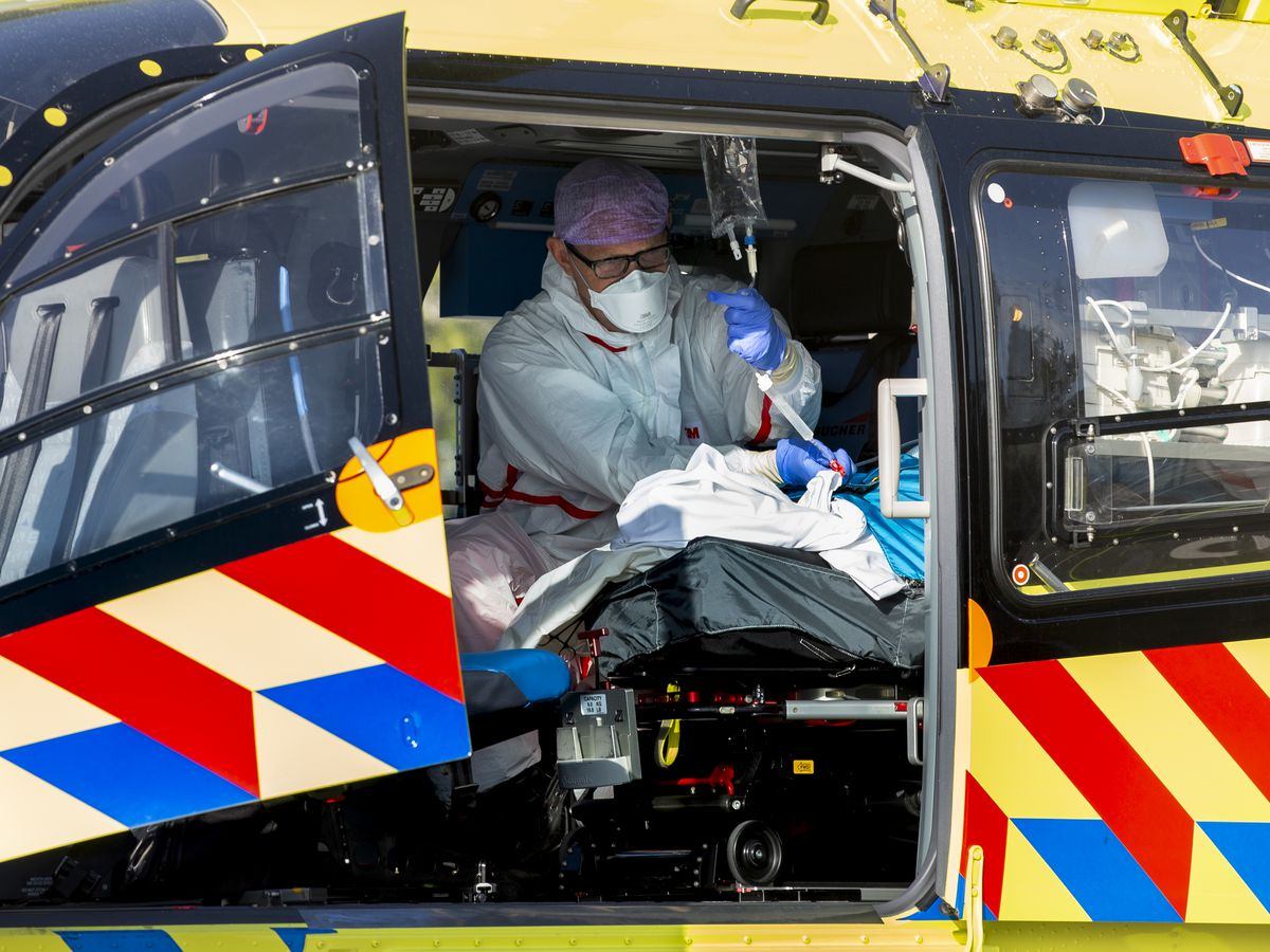 Dutch hospital airlifts patients to Germany amid virus surge