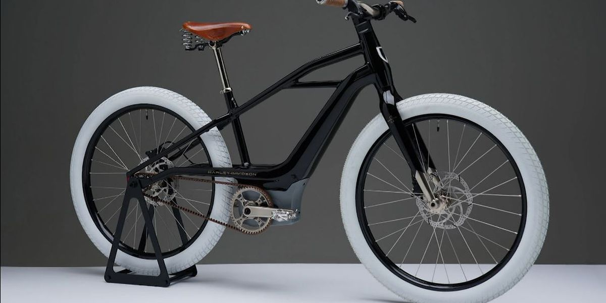Harley-Davidson unveils its first electric bicycle