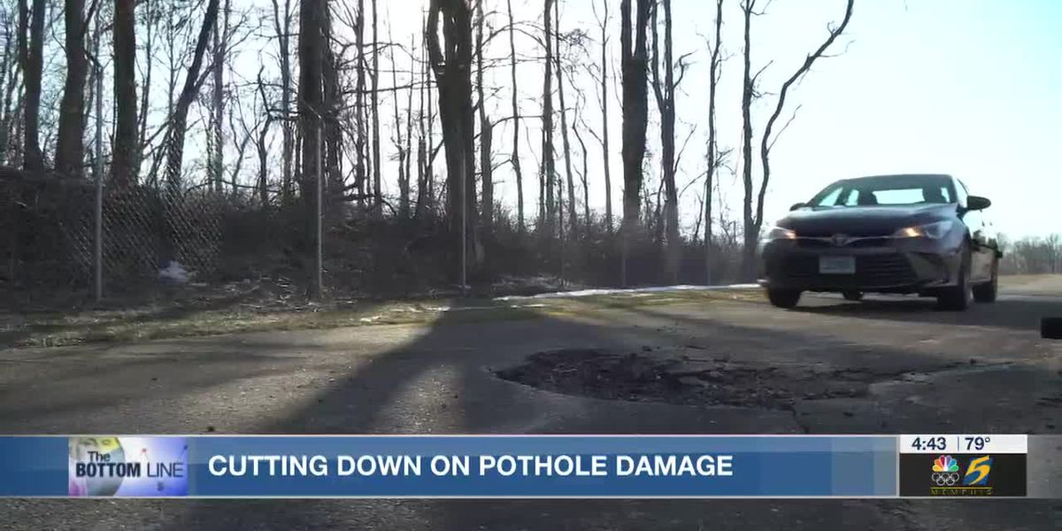 Bottom Line: Cutting down on pothole damage