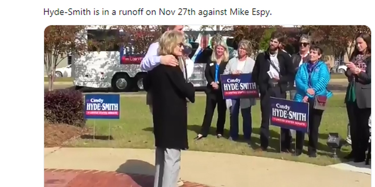 Cindy Hyde-Smith's 'public hanging' joke draws Twitter backlash, response from Espy