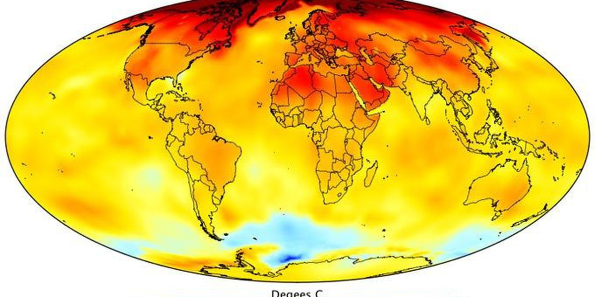 More record heat and temperature extremes so far in 2017