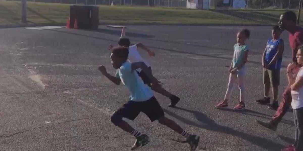 Coach inspires healthy habits through running club