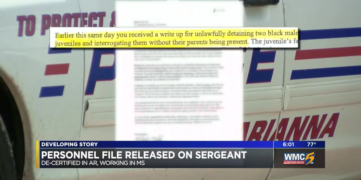 Personnel file of MS sergeant accused of sexual misconduct details past policy violations
