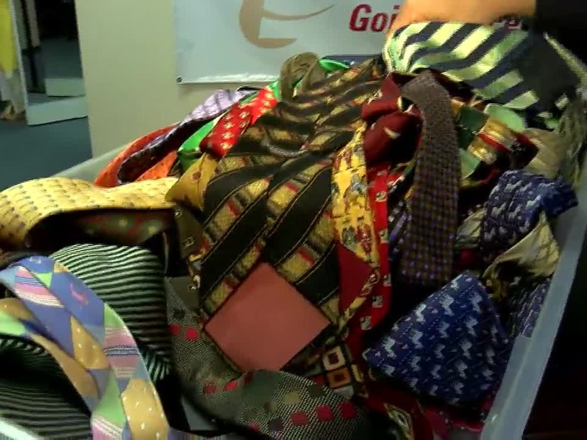 WMC helps viewer donate 100-plus neckties to Dress for Success
