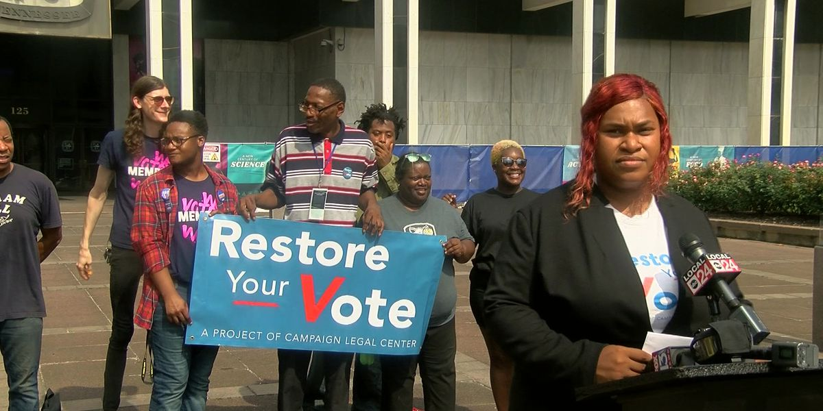 Group helps felons restore their voting rights