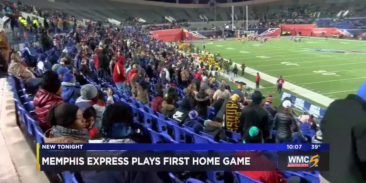Memphis Express plays first home game