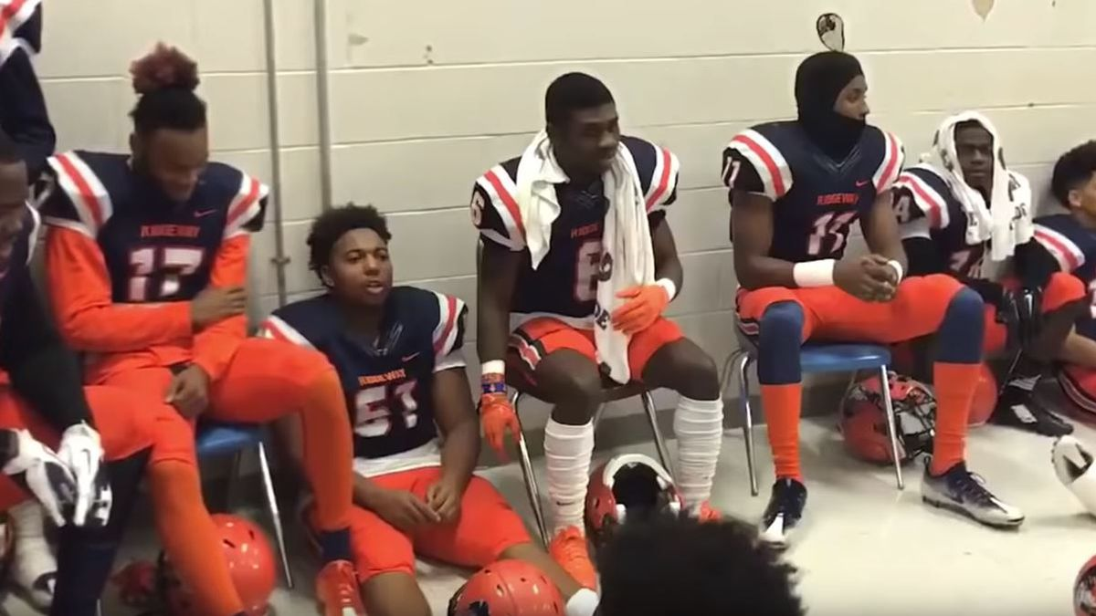 Local high school football team featured in NFL commercial