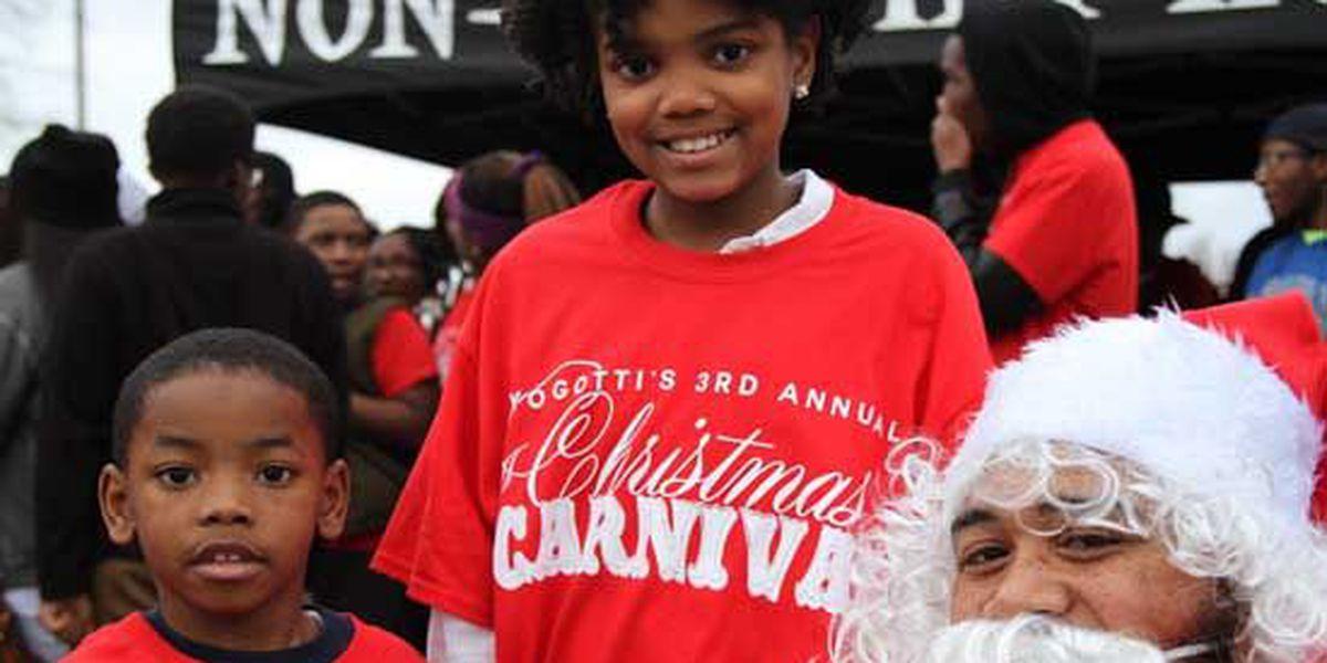 Memphis music artist and former NBA star host Christmas carnival