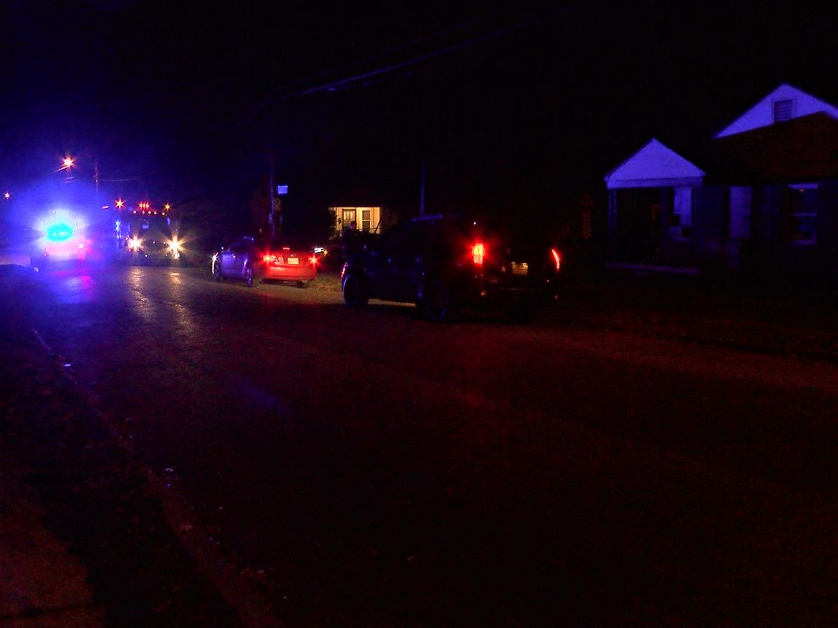 1 shot, wounded in Binghampton area