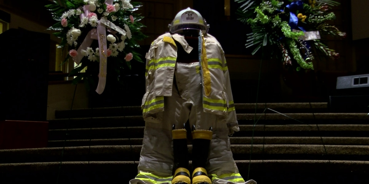 Visitation held for iconic Memphis firefighter