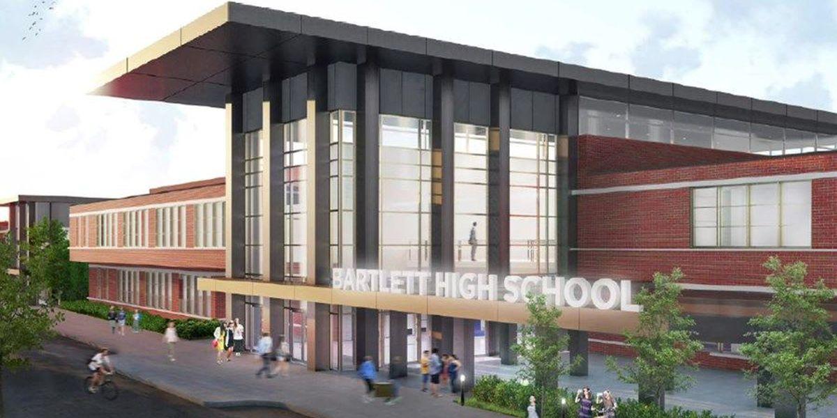 $55M renovations underway at Bartlett High