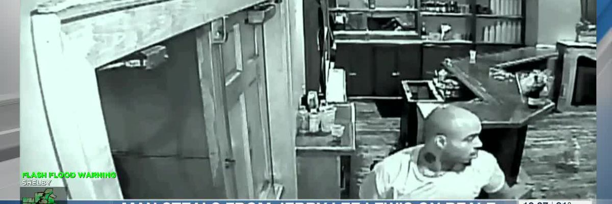 Police: Man wanted in Jerry Lee Lewis Cafe burglary