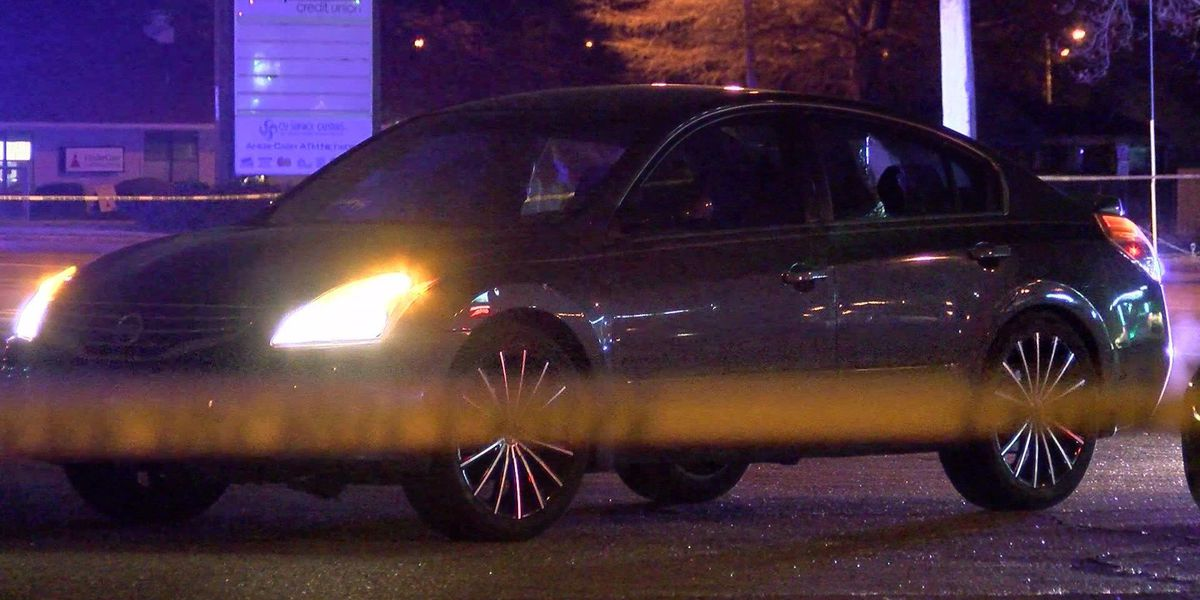 Man hit when shots fired into car during robbery