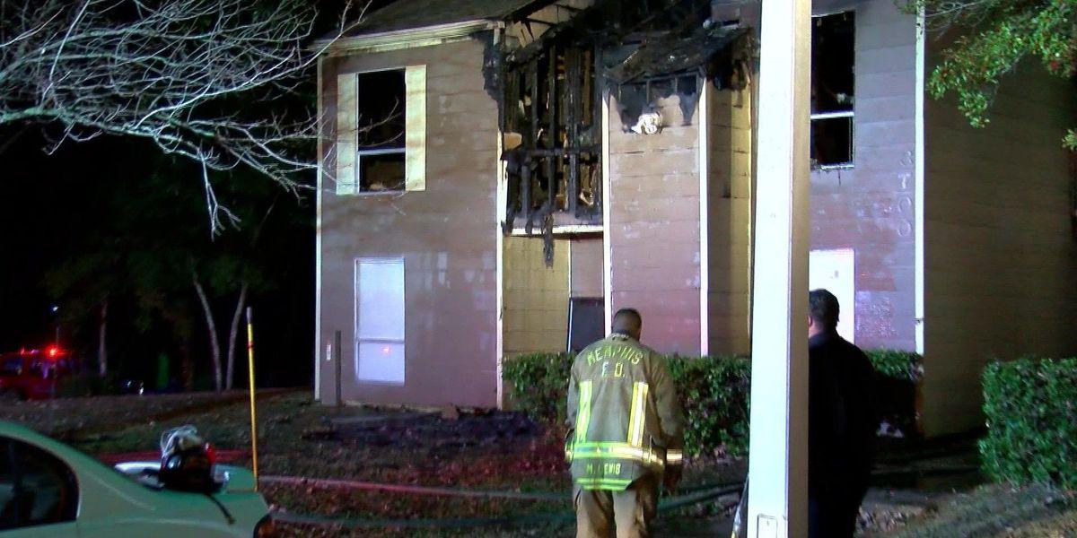 Multiple families left homeless after a Memphis apartment fire