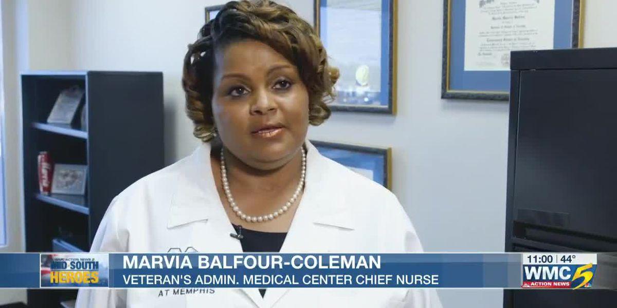 Mid-South Hero: Chief nurse strives to help Veterans amid global health crisis