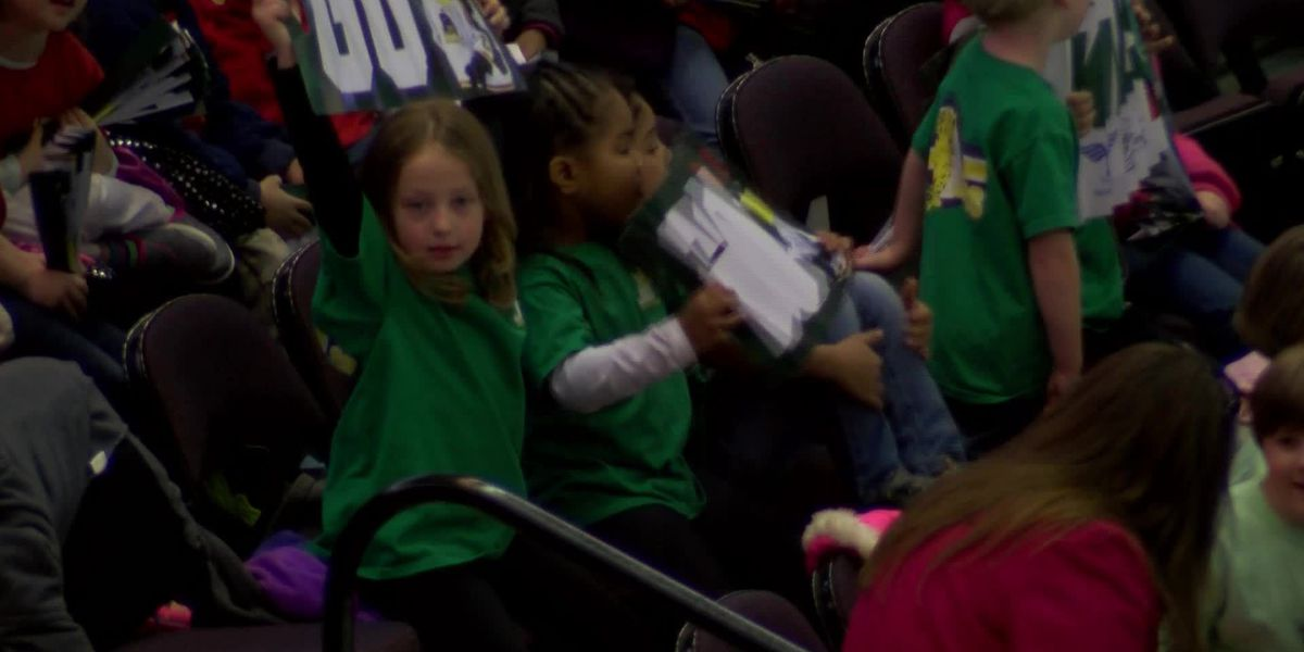 Riverkings host more than 5,000 kids on Face Off Field Trip