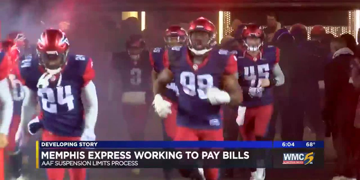 Memphis Express president says he's 'heartbroken' for AAF players, coaches after league folds