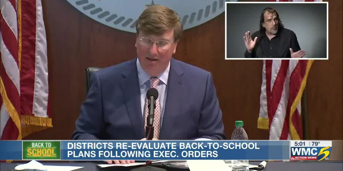 Miss. districts re-evaluate back-to-school plans following executive order