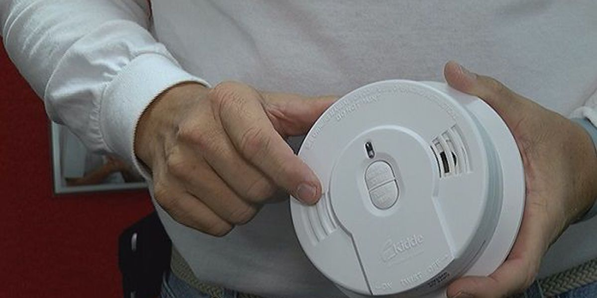 Change your smoke alarm batteries when changing your clock this weekend