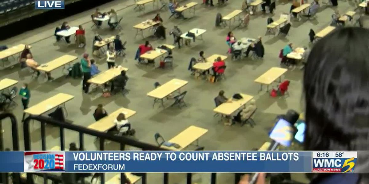 Volunteers ready to count absentee ballots