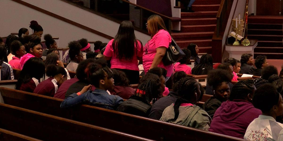 Mid-South girls attend leadership conference put on by MPD, MFD