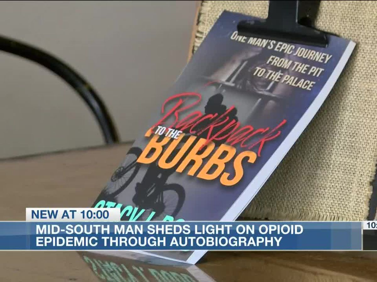 Mid-South man sheds light on opioid epidemic through autobiography