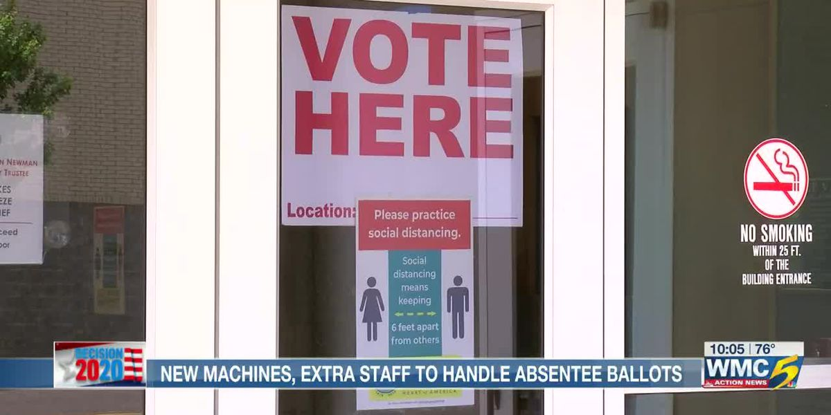 New machines, extra staff to handle absentee ballots