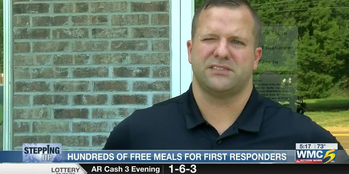 Stepping Up: Hundreds of free meals for first responders