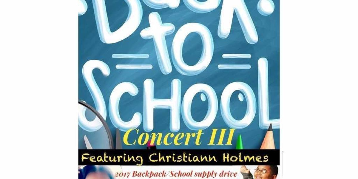 Back to School Concert and Supply Drive aims to give 1,000 filled backpacks to students